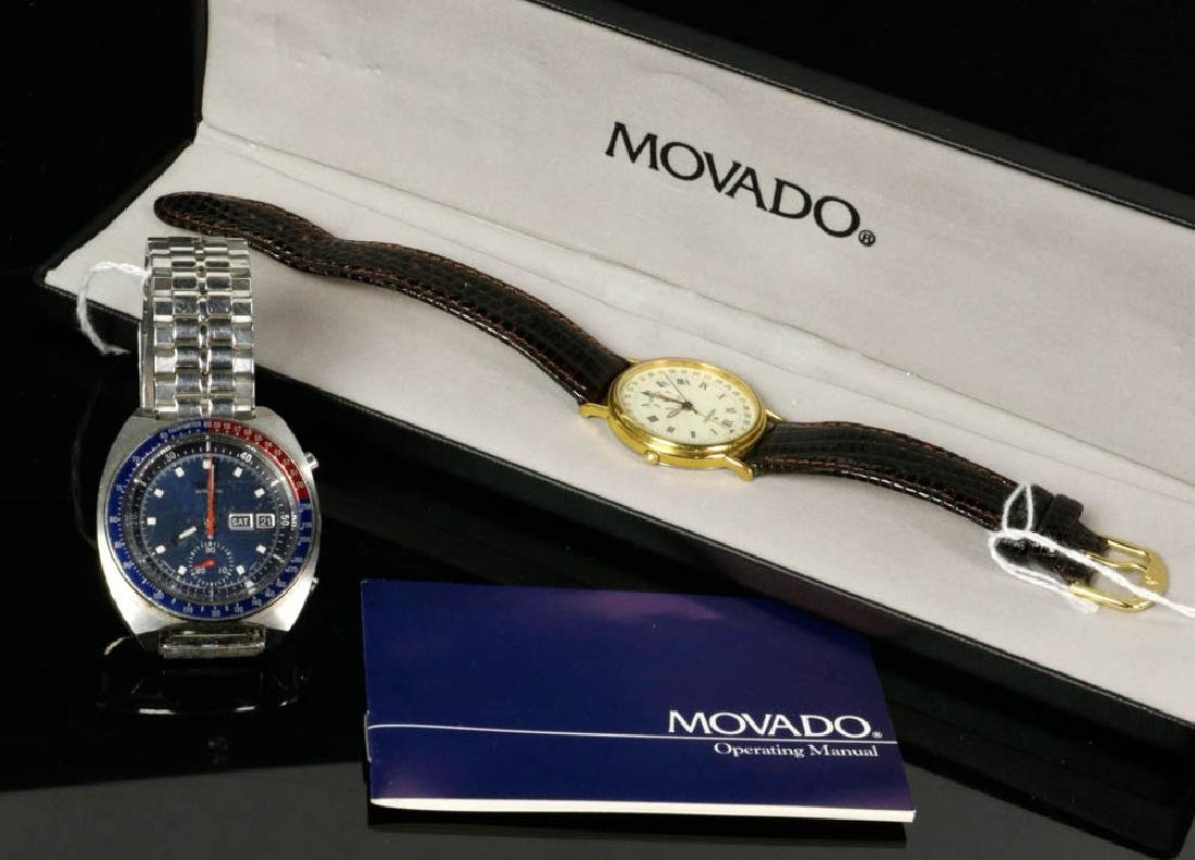 Vintage Seiko Automatic & Movado Watches