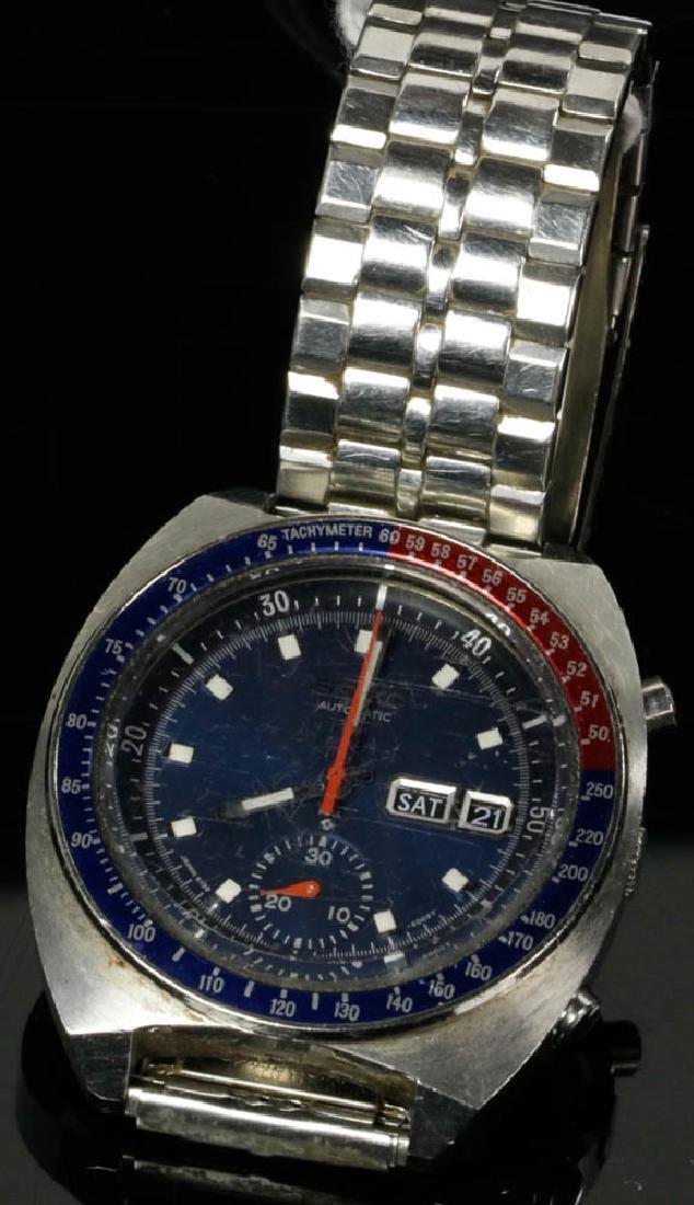 Vintage Seiko Automatic & Movado Watches - 2