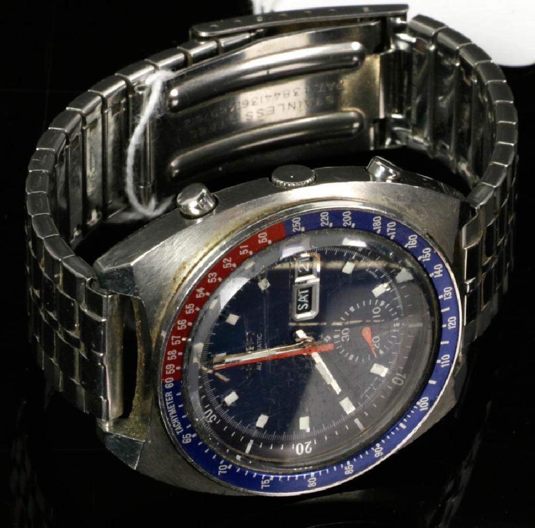 Vintage Seiko Automatic & Movado Watches - 3