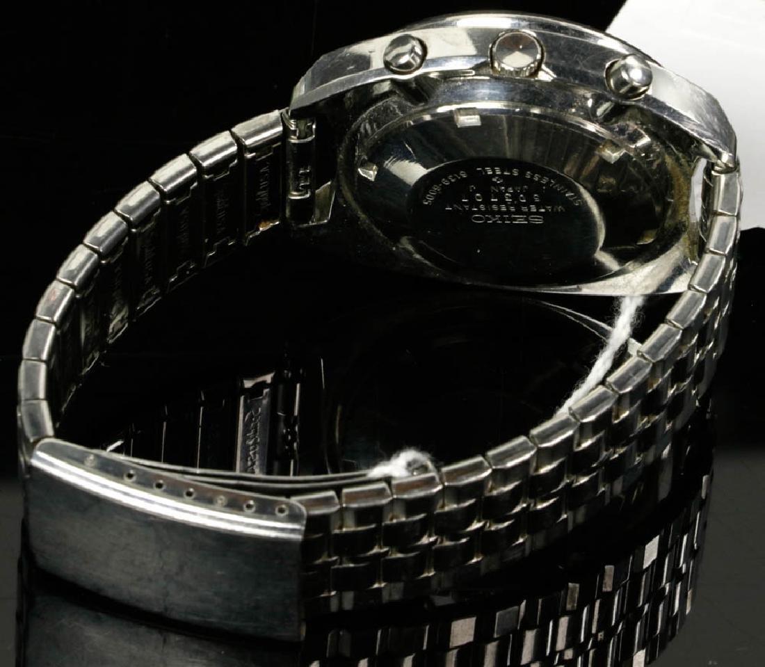 Vintage Seiko Automatic & Movado Watches - 5