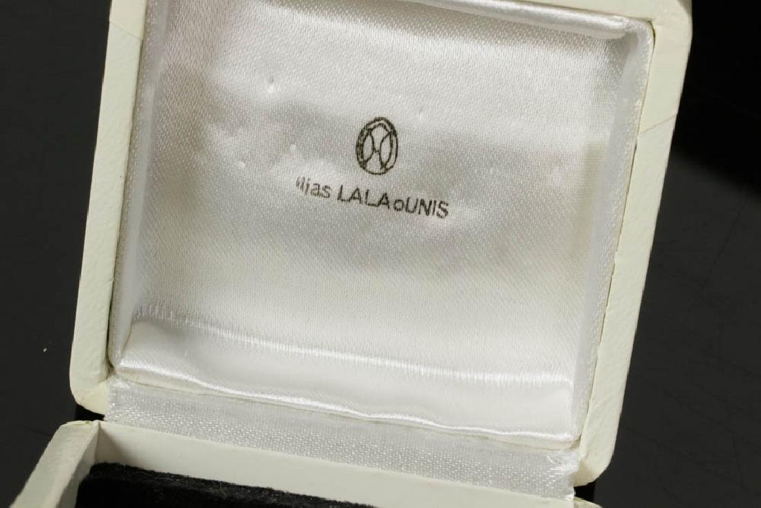 Ladies 18k Gold Earrings by Lalaounis - 7