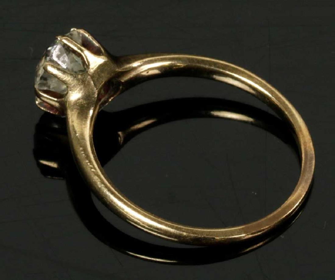 14k Gold Diamond Ring - 3