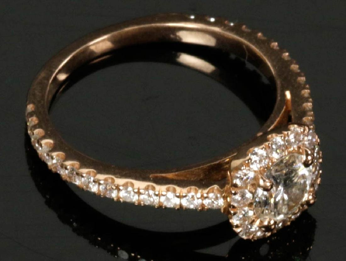 14k Gold Diamond Ring - 6