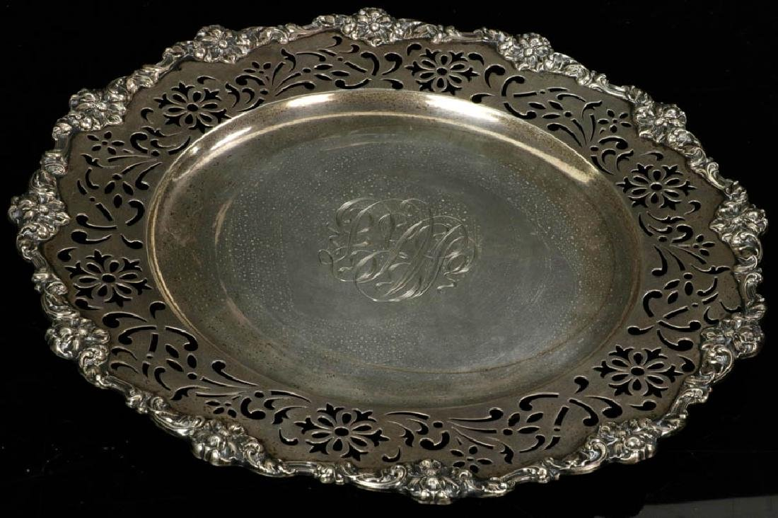 Gorham Sterling Reticulated Plate
