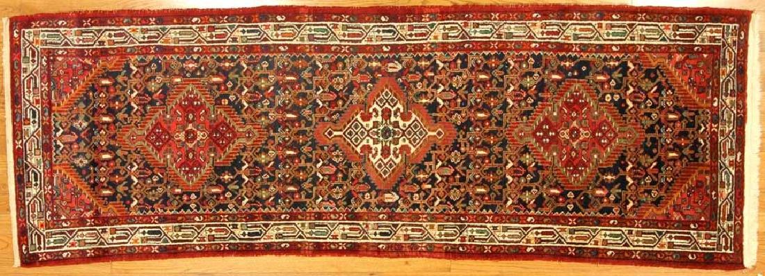 Semi-antique Persian Herati Rug