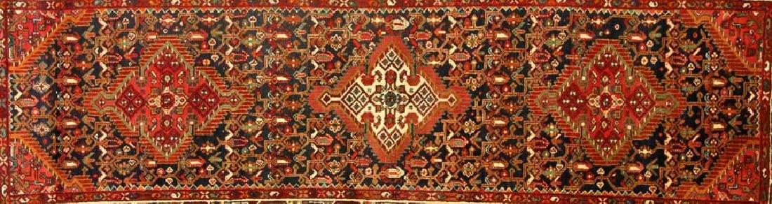 Semi-antique Persian Herati Rug - 2