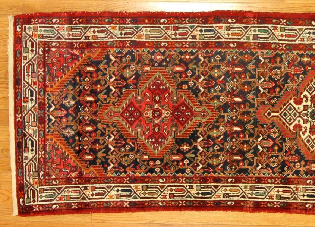 Semi-antique Persian Herati Rug - 3