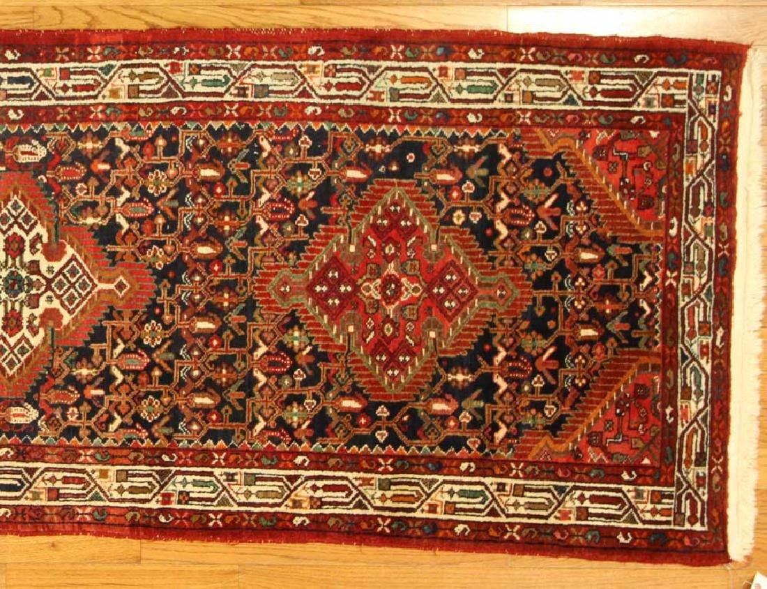 Semi-antique Persian Herati Rug - 4