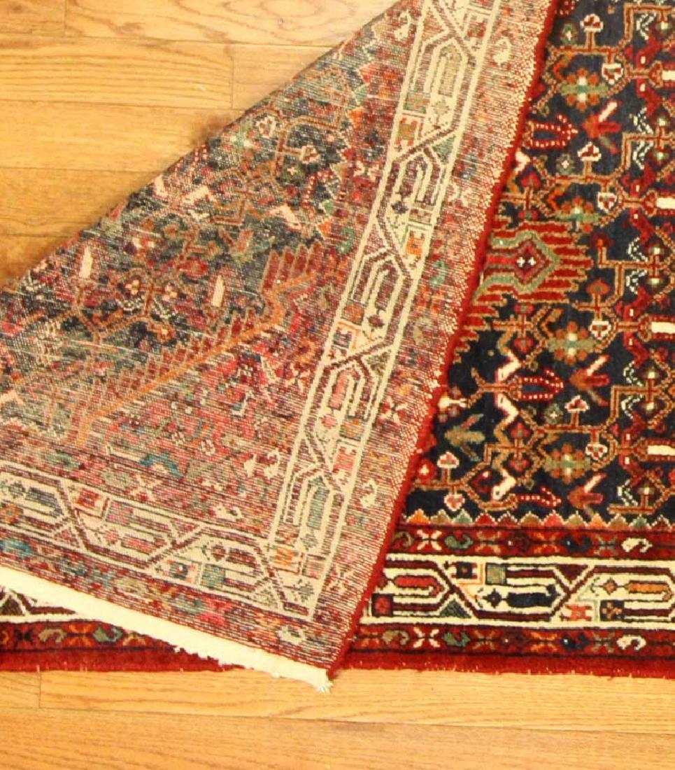 Semi-antique Persian Herati Rug - 5