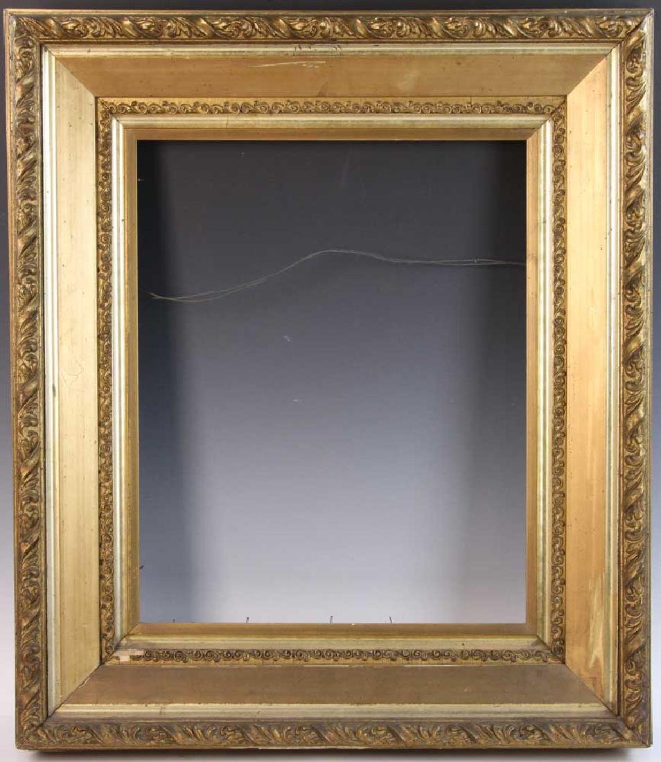 Victorian Carved and Gilt Picture Frame