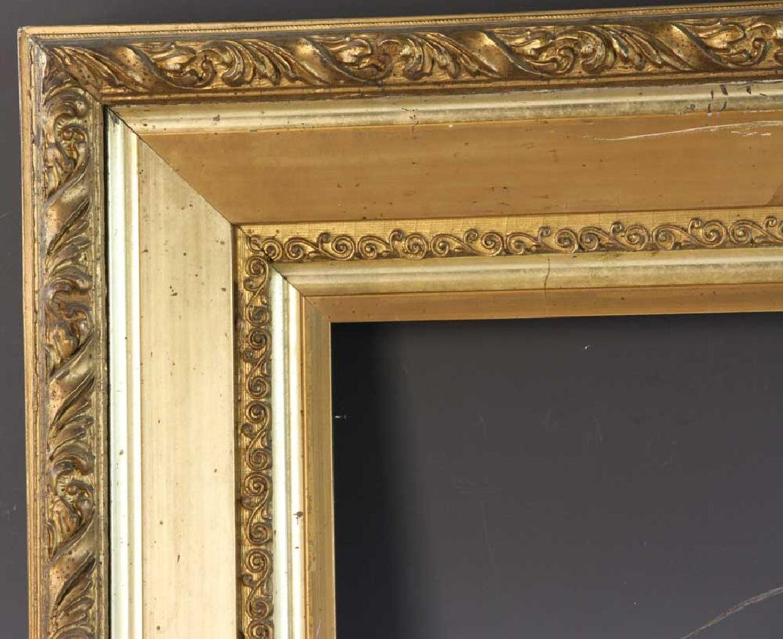 Victorian Carved and Gilt Picture Frame - 2