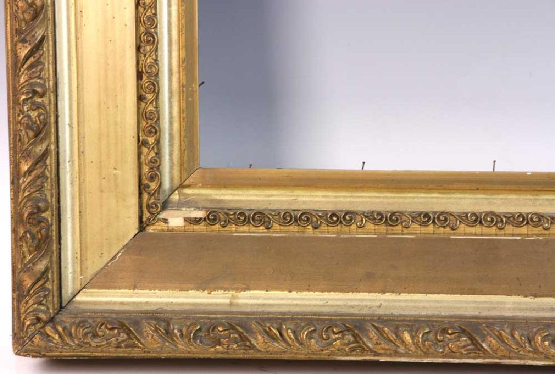 Victorian Carved and Gilt Picture Frame - 3