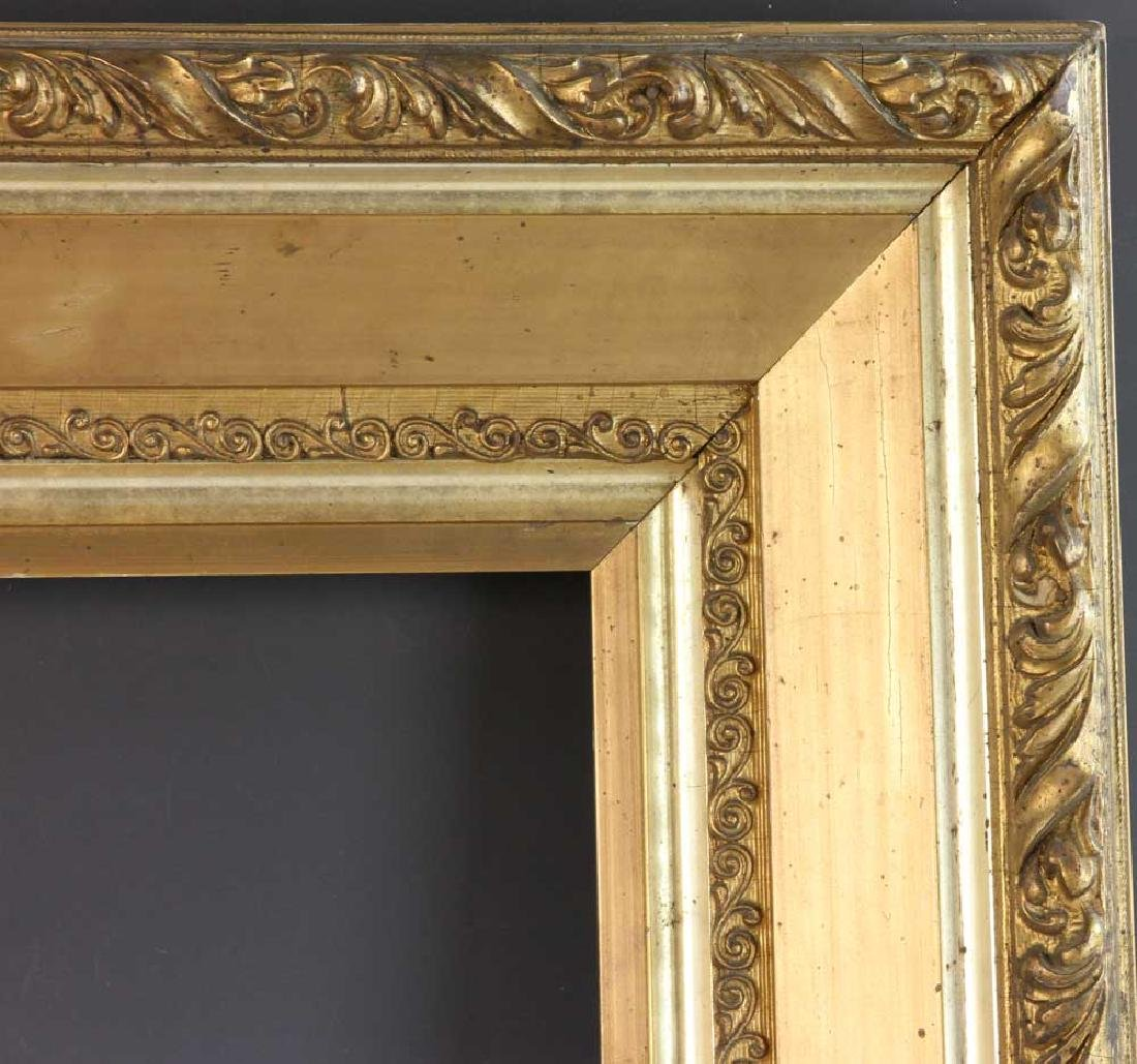 Victorian Carved and Gilt Picture Frame - 5