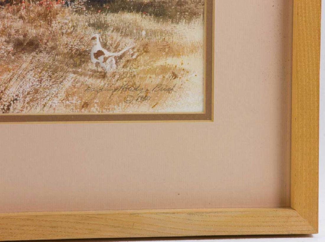 Harding Mudge Bush, Hunting, Watercolor - 3