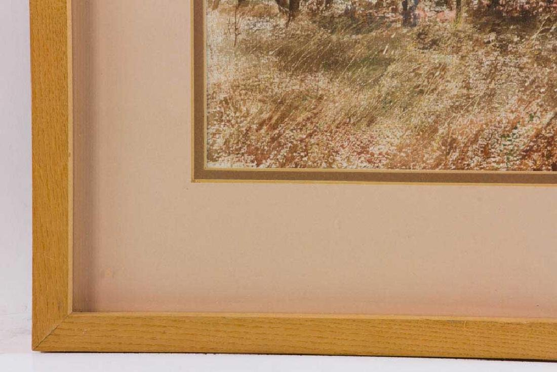 Harding Mudge Bush, Hunting, Watercolor - 4