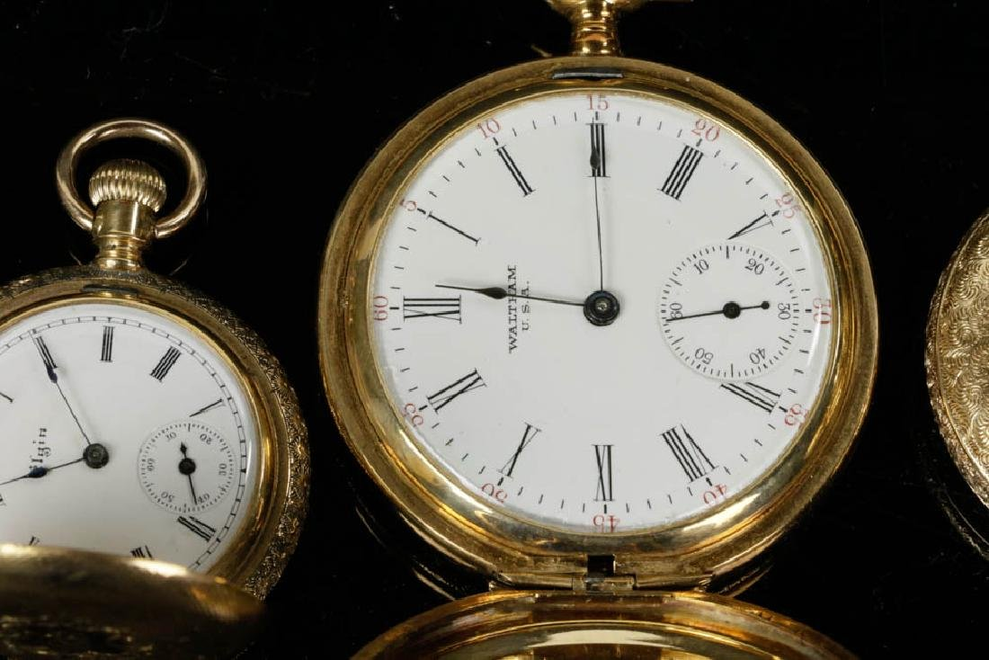 Four Gold Pocket Watches - 3