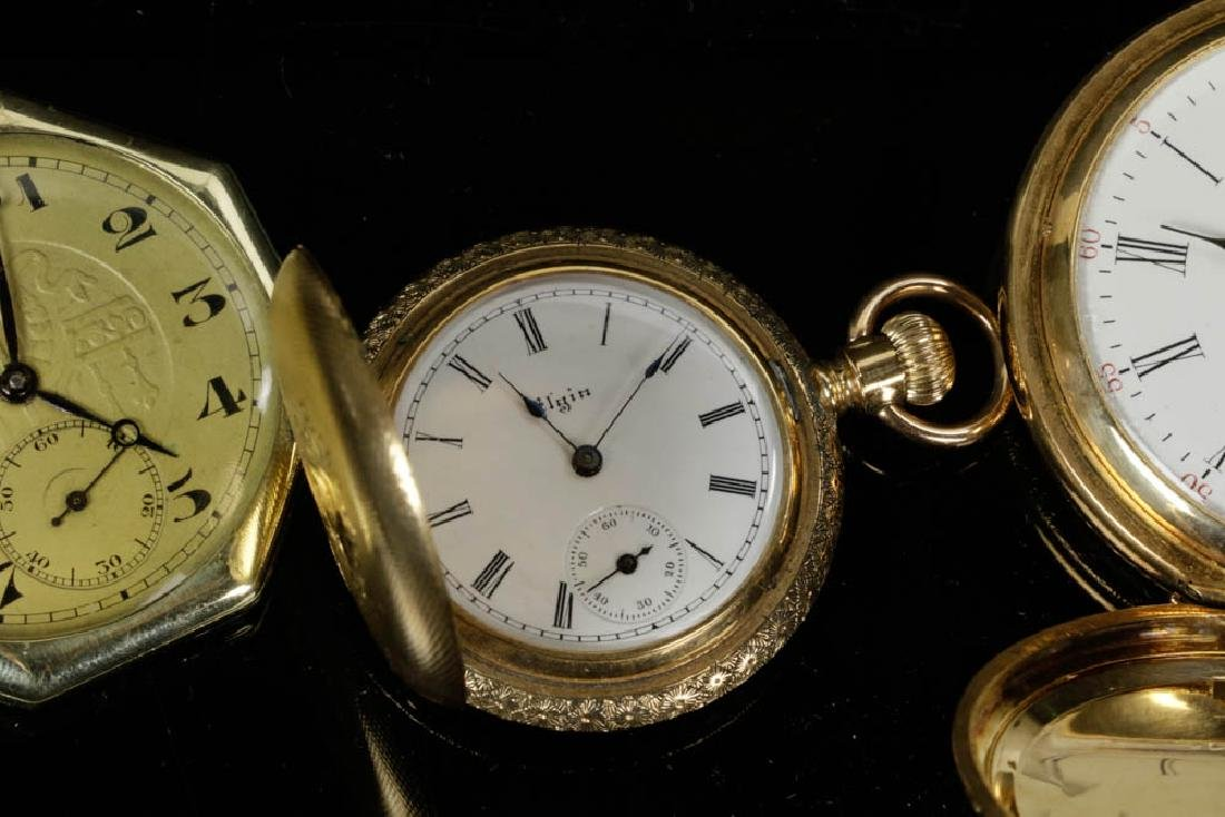 Four Gold Pocket Watches - 4