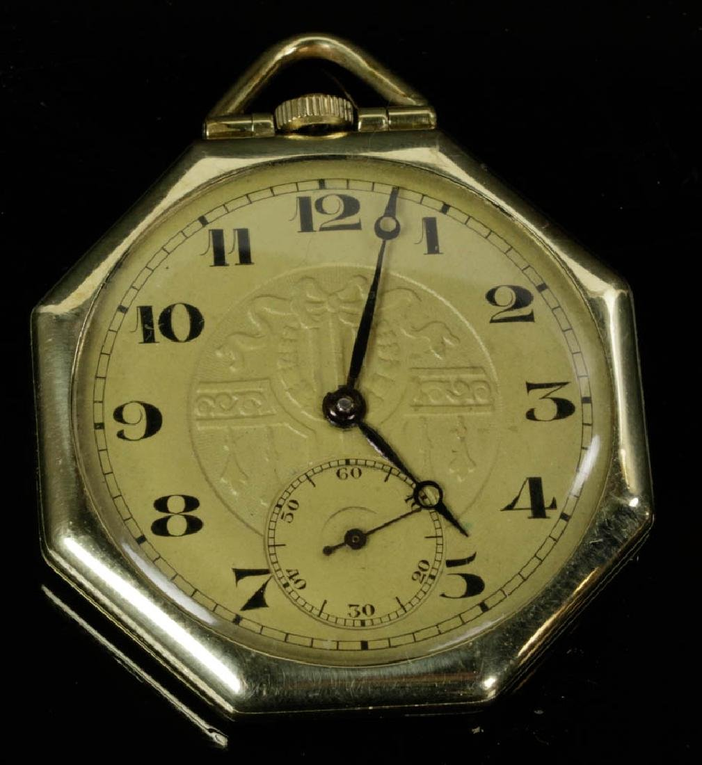 Four Gold Pocket Watches - 5