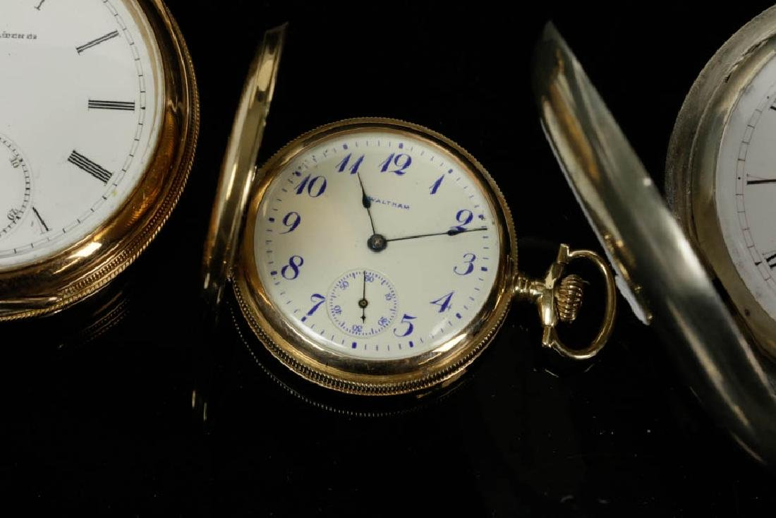 Six Gold & Silver Pocket Watches - 4