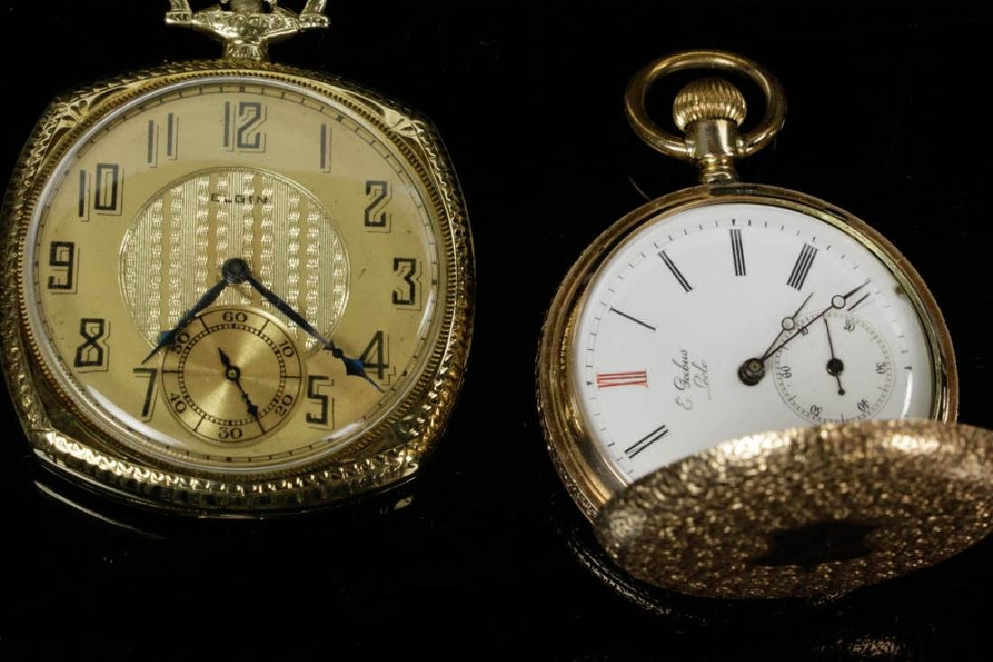 Six Gold & Silver Pocket Watches - 5