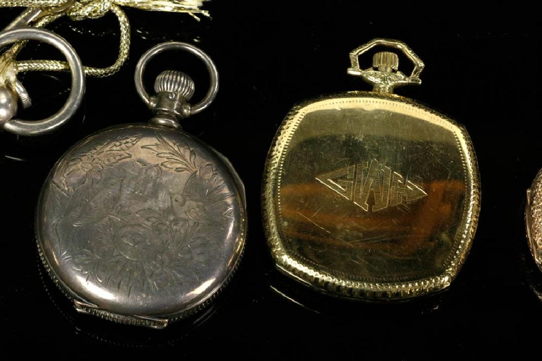 Six Gold & Silver Pocket Watches - 7