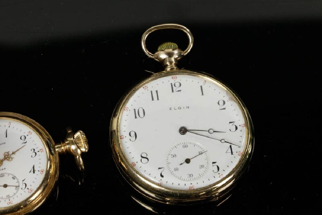 Four 14k Gold Pocket Watches - 2
