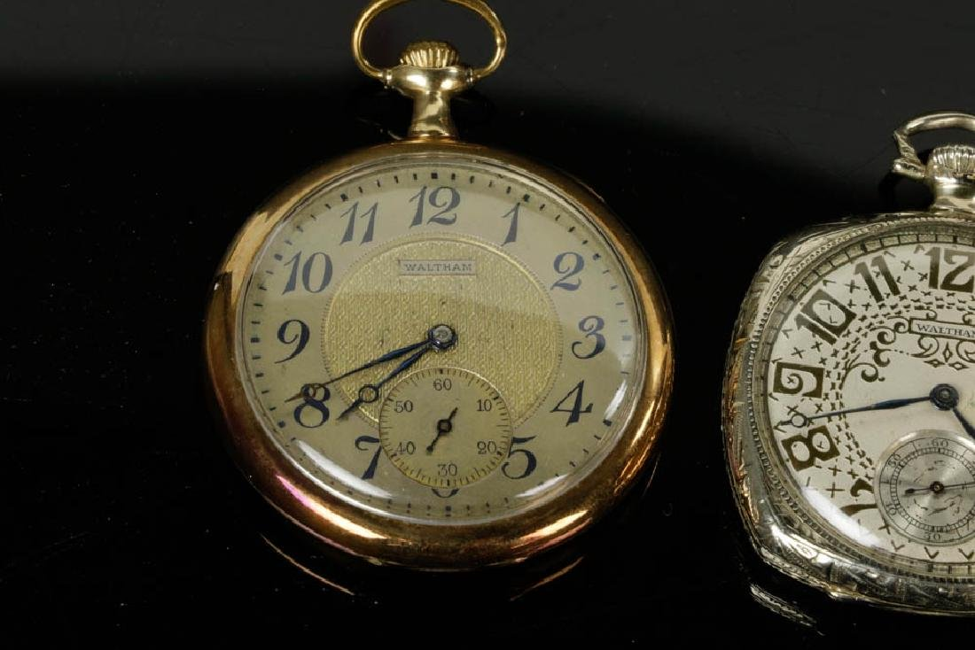 Four 14k Gold Pocket Watches - 5