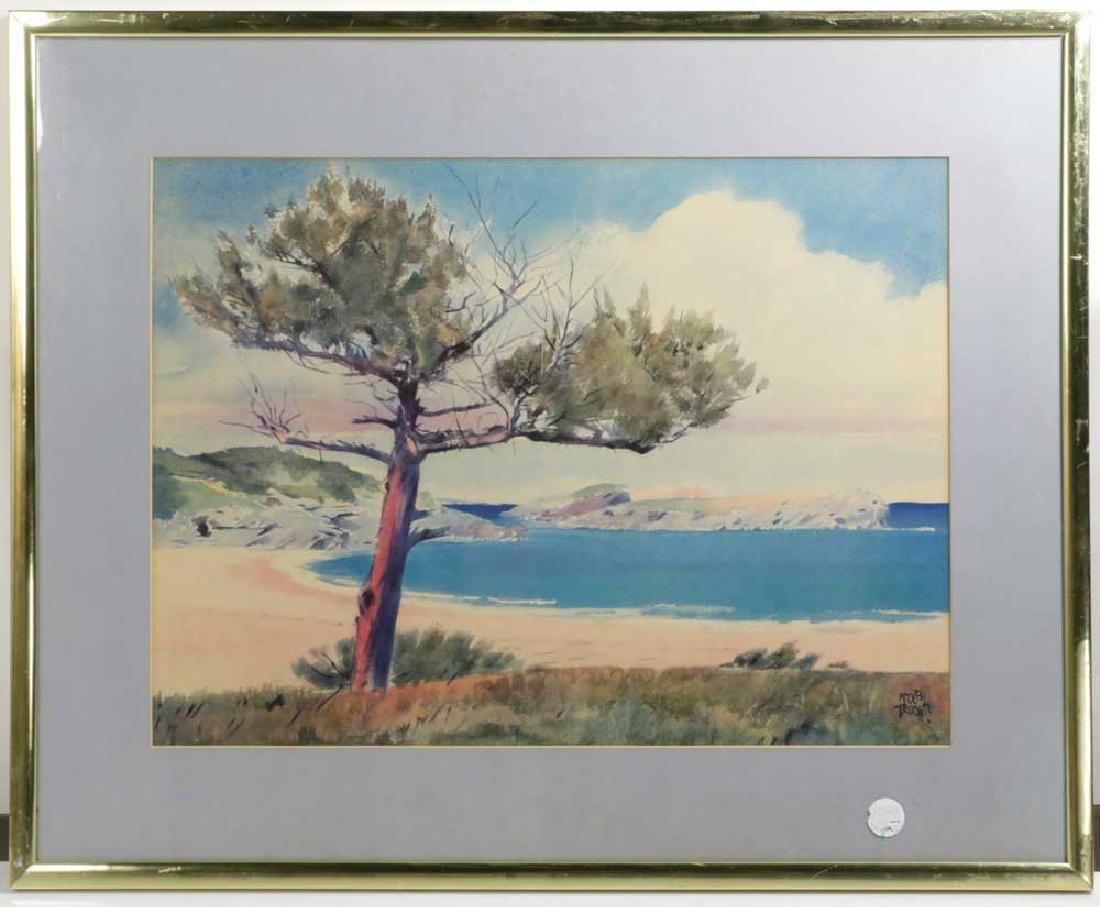 Adolph Treidler, Landscape, Offset Litho
