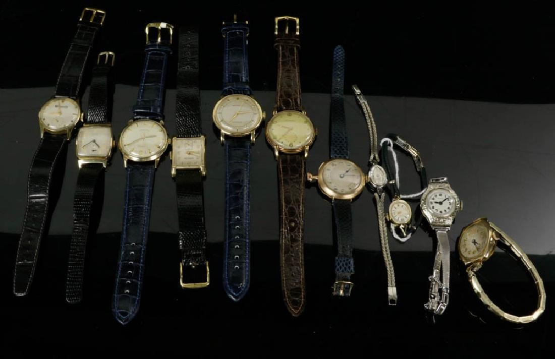 Eleven Gold Wrist Watches