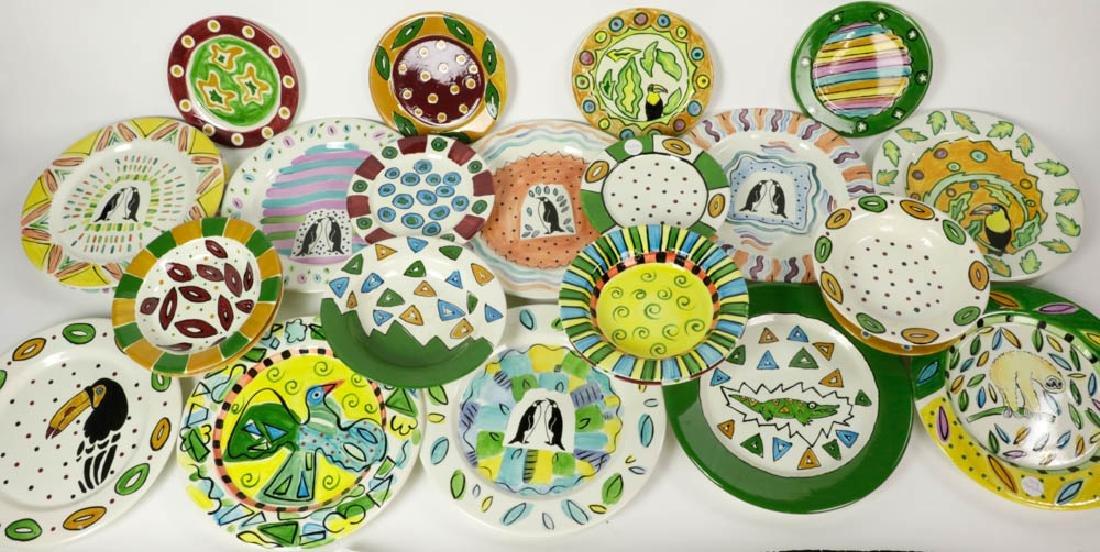 Vintage Hand Painted Italian Ceramics