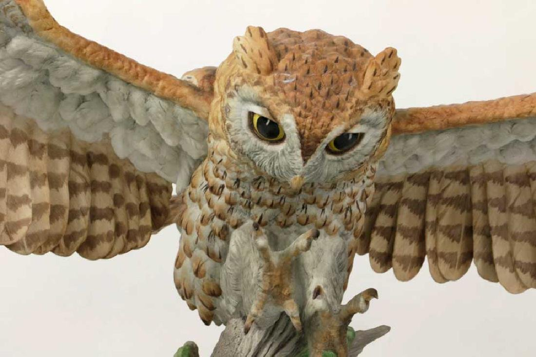 Boehm Limited Edition Screech Owl - 3