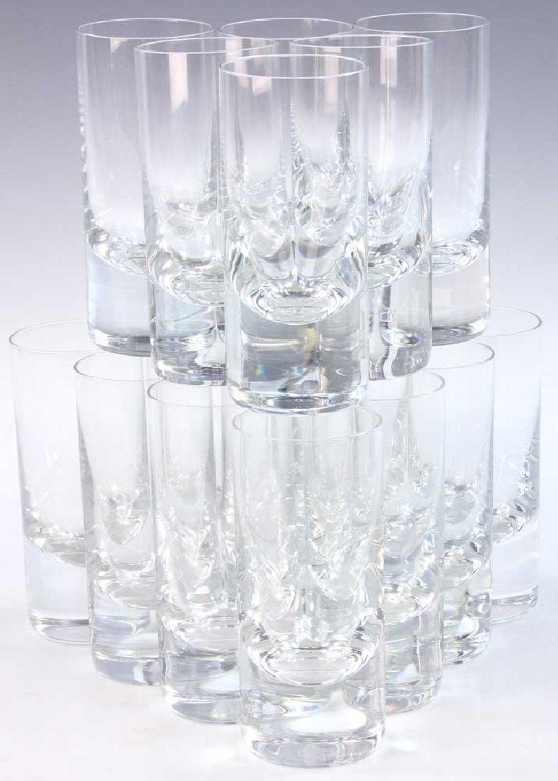Set Of Baccarat Crystal Glasses