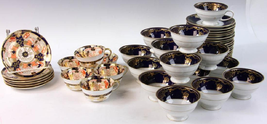 Rosenthal and Royal Crown Derby Cups & Saucers