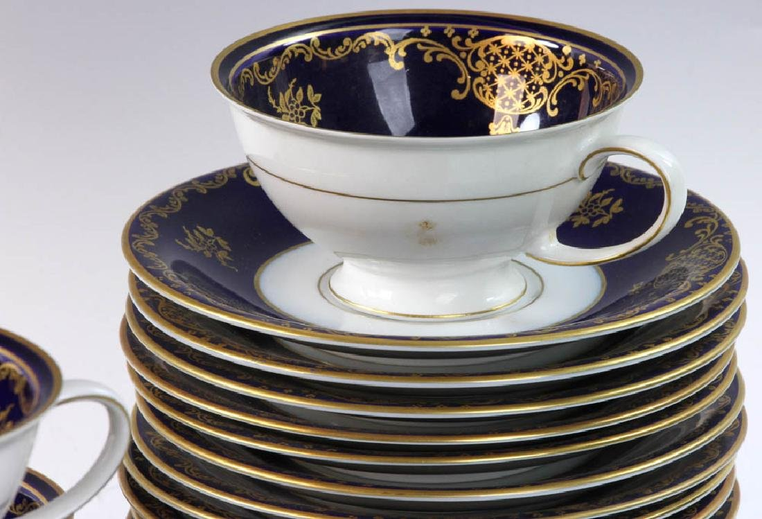 Rosenthal and Royal Crown Derby Cups & Saucers - 4