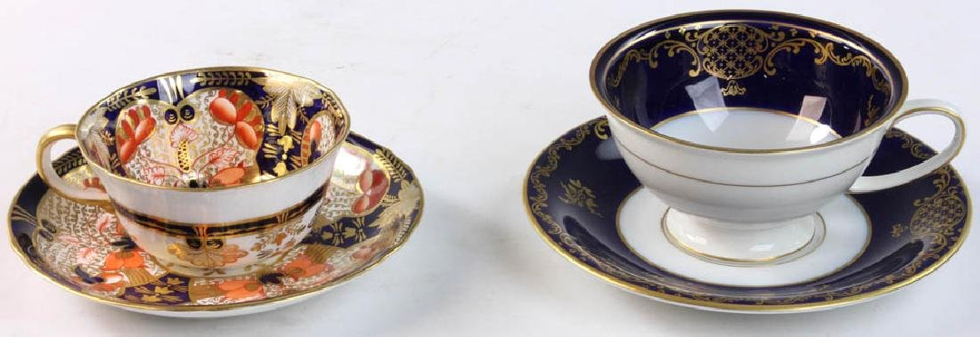 Rosenthal and Royal Crown Derby Cups & Saucers - 6