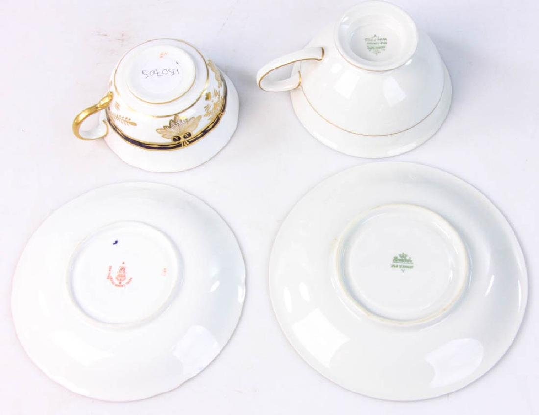 Rosenthal and Royal Crown Derby Cups & Saucers - 7