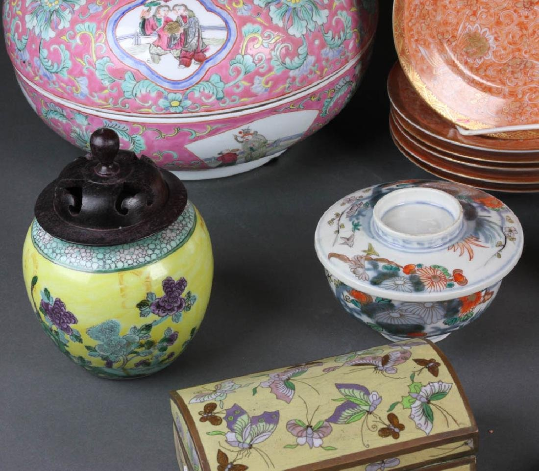 Collection of Asian Decorative Items - 3