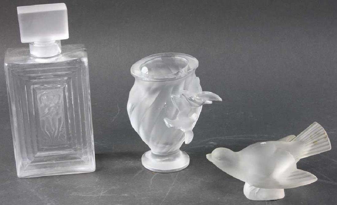 Three Pieces of Lalique Glass - 2