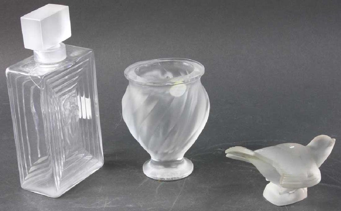 Three Pieces of Lalique Glass - 4