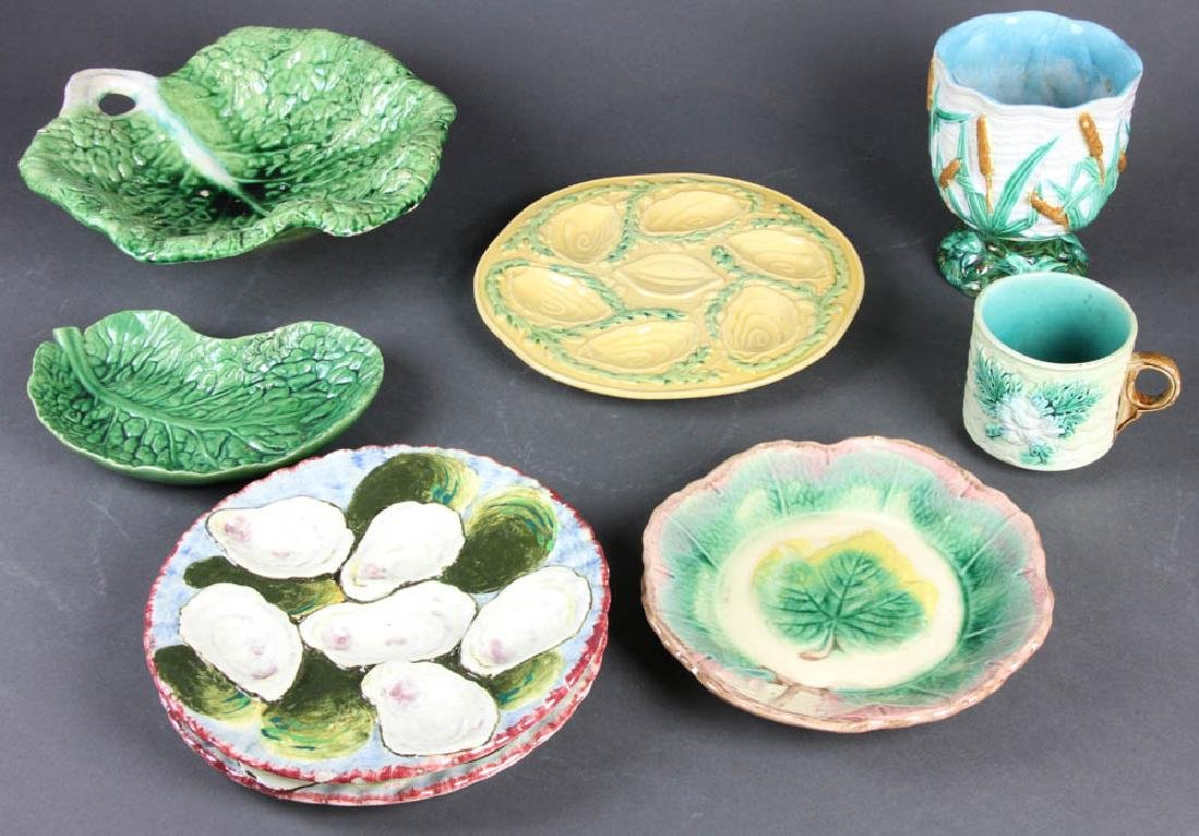 English and Continental Majolica