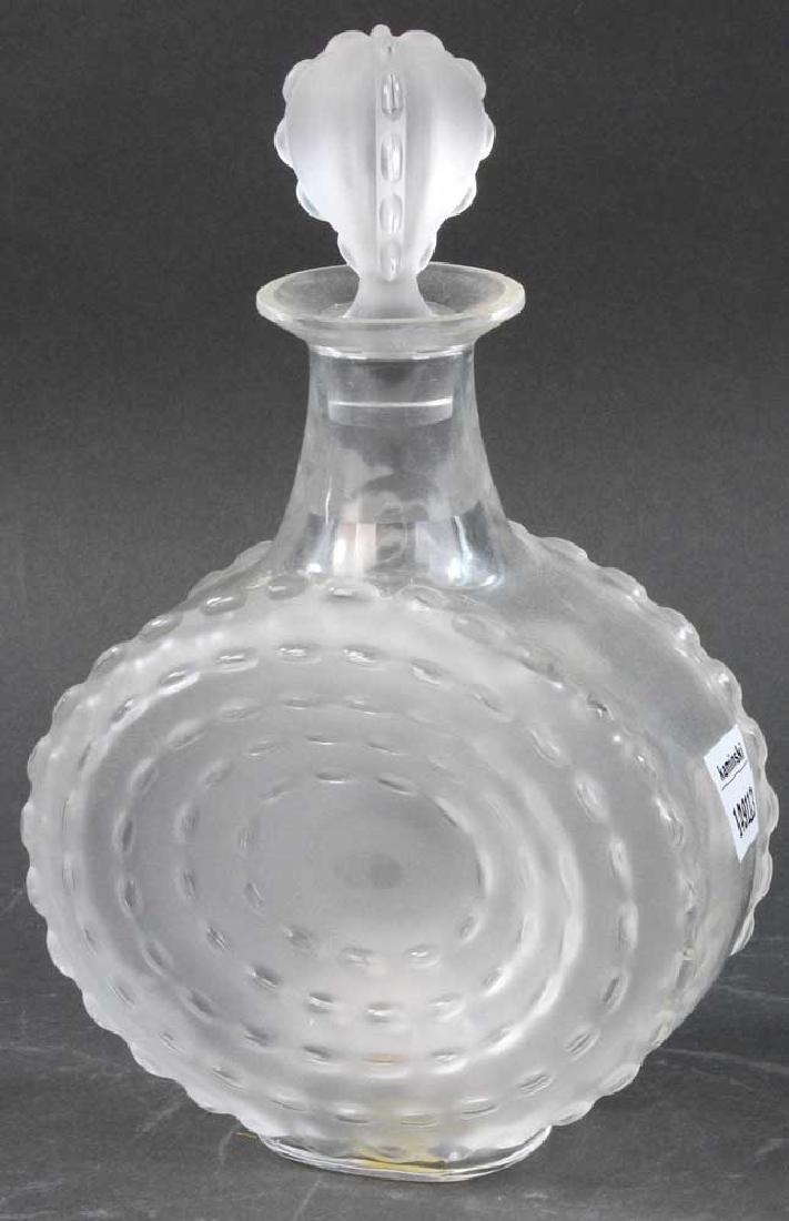 Lalique Glass Decanter