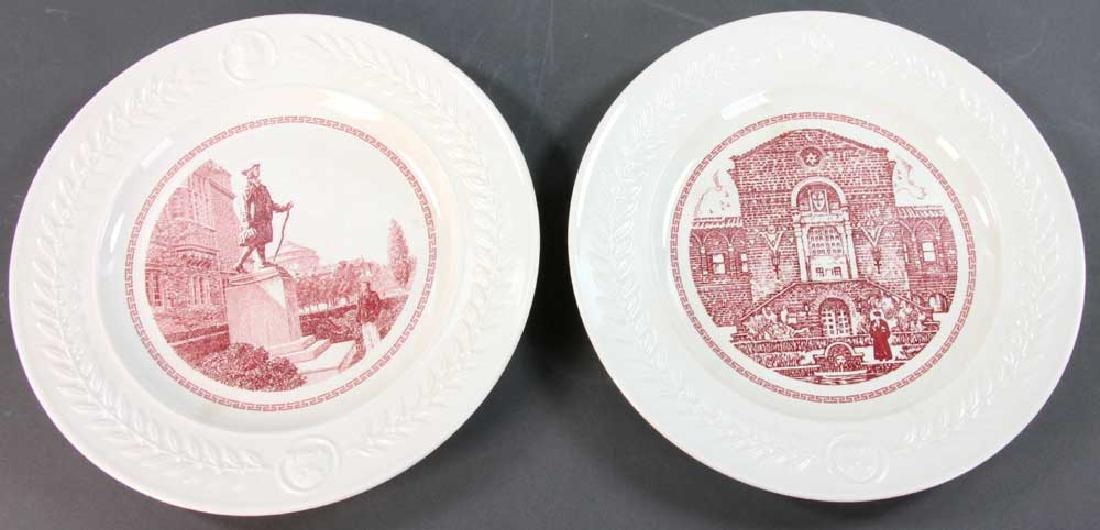 Wedgwood Pennsylvania University Plates - 10