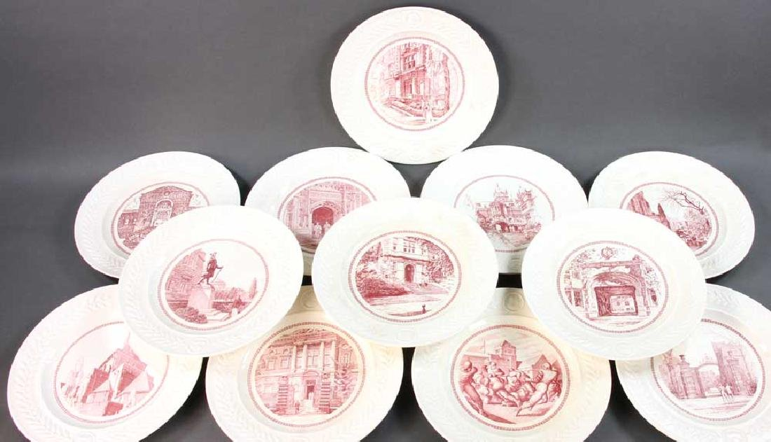 Wedgwood Pennsylvania University Plates