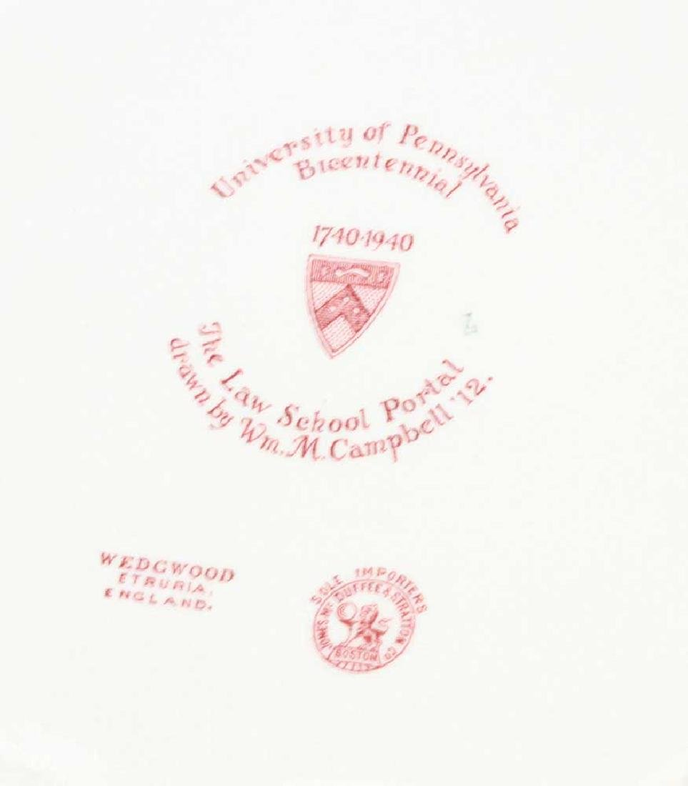 Wedgwood Pennsylvania University Plates - 4