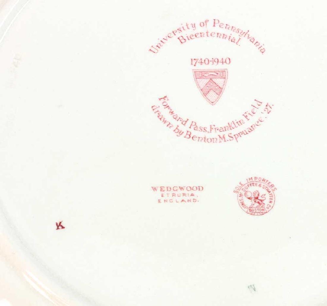 Wedgwood Pennsylvania University Plates - 5