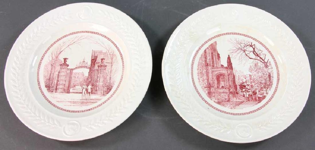 Wedgwood Pennsylvania University Plates - 6