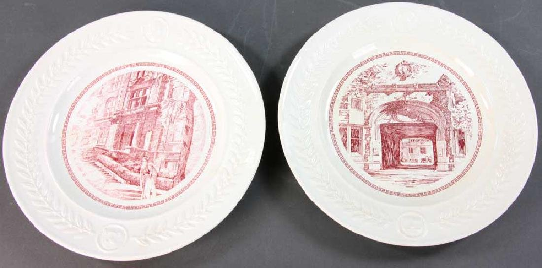 Wedgwood Pennsylvania University Plates - 8