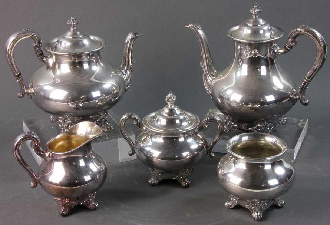 Reed and Barton Silverplate Tea Service