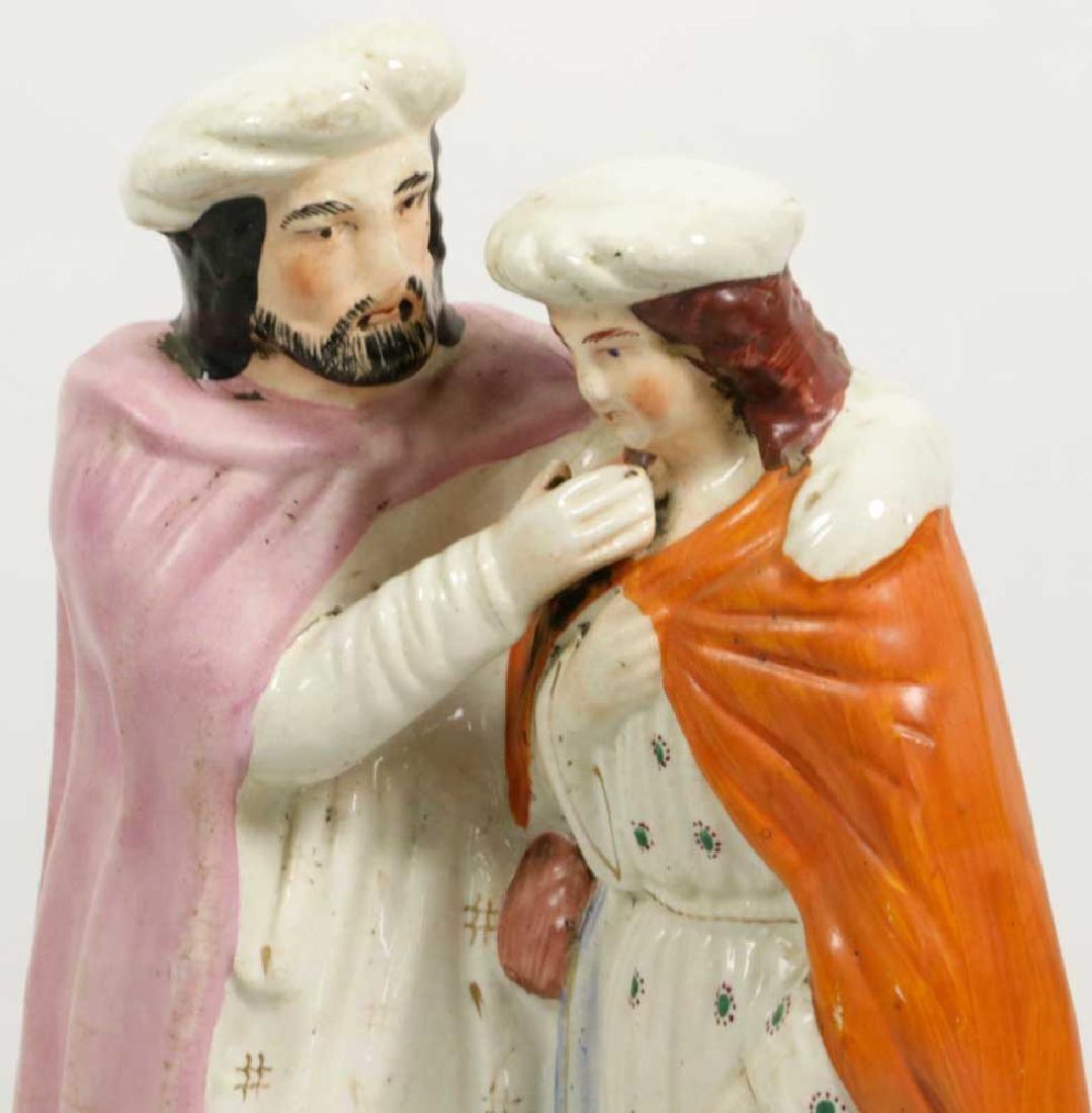 Three 19th C. Staffordshire Figures - 4