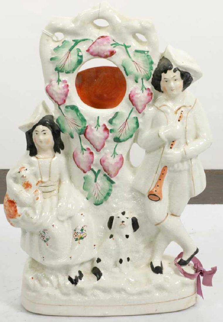 Three 19th C. Staffordshire Figures - 6